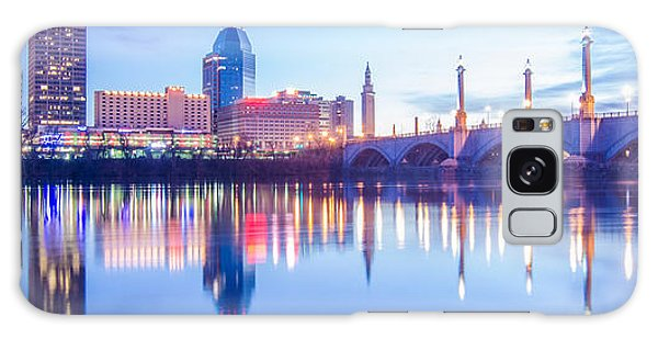 Springfield Massachusetts City Skyline Early Morning Galaxy Case