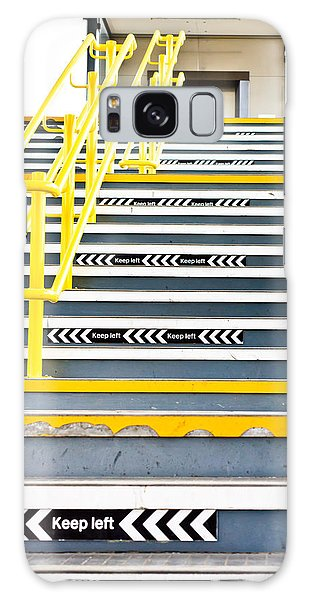 Banister Galaxy Case - Stairs by Tom Gowanlock