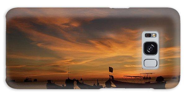 Sunrise On Koh Tao Island In Thailand Galaxy Case
