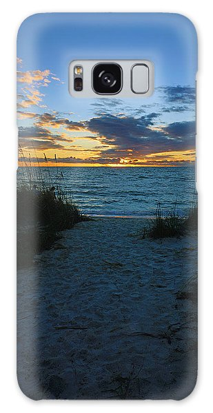 Sunset At Delnor Wiggins Pass State Park Galaxy Case