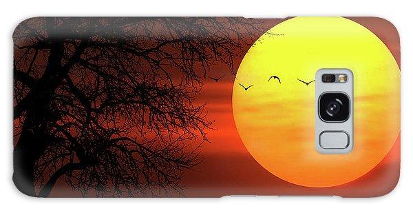 Sunset Galaxy Case by Bess Hamiti