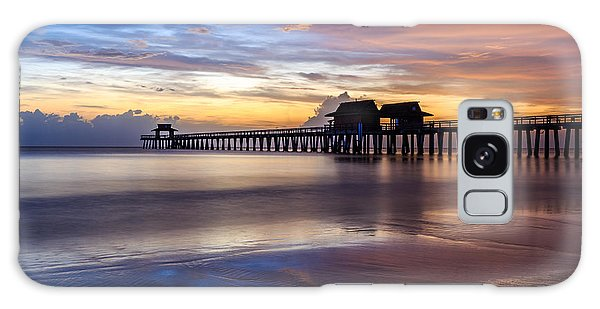 Sunset Naples Pier Florida Galaxy Case