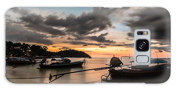 Sunset Over Koh Lipe Galaxy Case