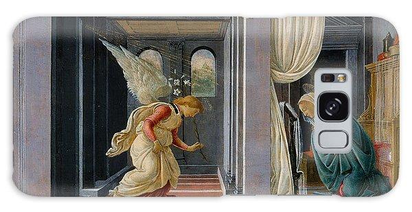 Annunciation Galaxy Case - The Annunciation by Sandro Botticelli
