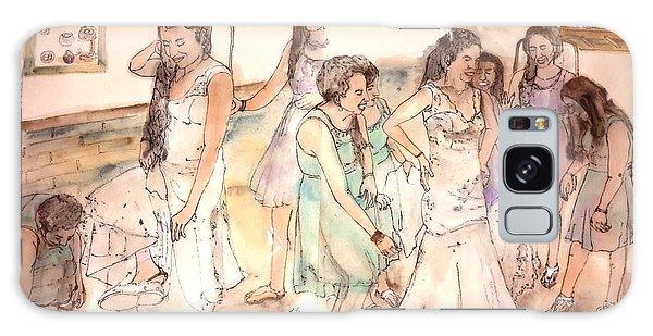 The Wedding Album  Galaxy Case by Debbi Saccomanno Chan