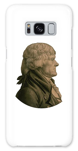 Thomas Jefferson Galaxy Case