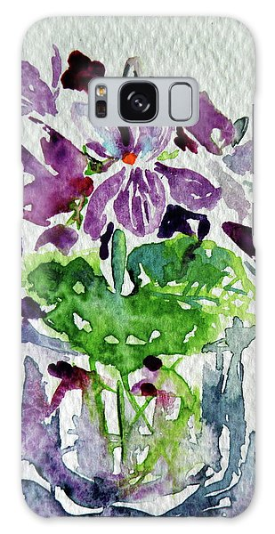 Violet Galaxy Case by Kovacs Anna Brigitta