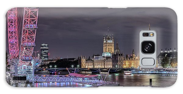 London Eye Galaxy Case - Westminster - London by Joana Kruse