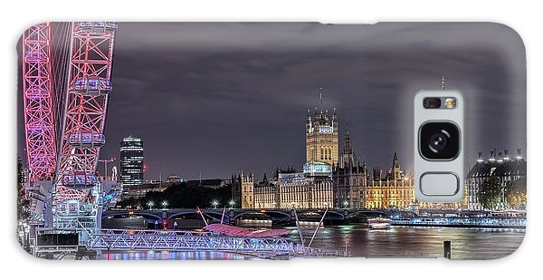 Westminster - London Galaxy Case by Joana Kruse