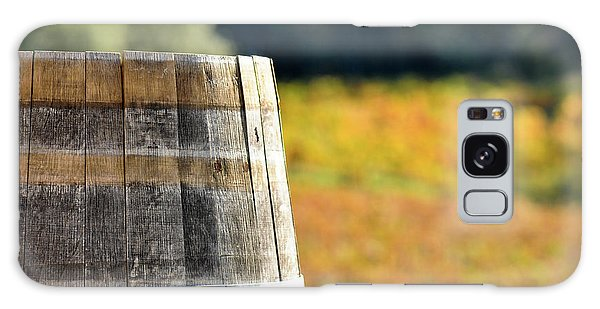 Wine Barrel In Autumn Galaxy Case