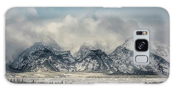 Teton Range Galaxy Case - Winter Beauty by Robert Fawcett