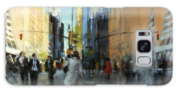 42nd Street Reflections Galaxy Case