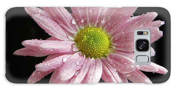 Pink Flower Galaxy Case by Elvira Ladocki