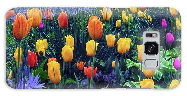 Procession Of Tulips Galaxy Case