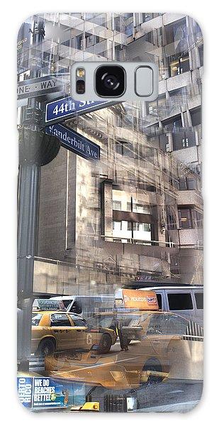 44th And Vanderbilt Collage Galaxy Case by Dave Beckerman