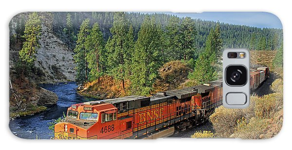Train Galaxy S8 Case - 4688 by Donna Kennedy