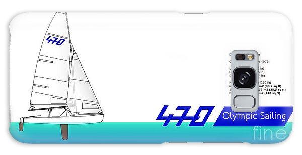 470 Olympic Sailing Galaxy Case