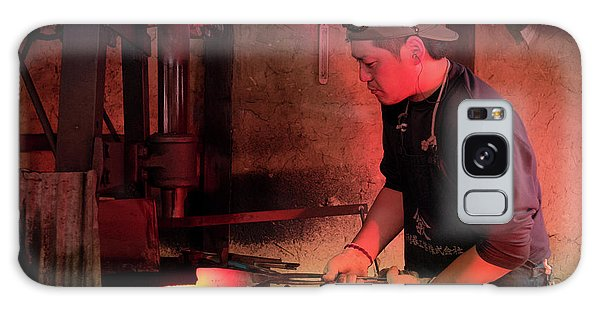 4th Generation Blacksmith, Miki City Japan Galaxy Case