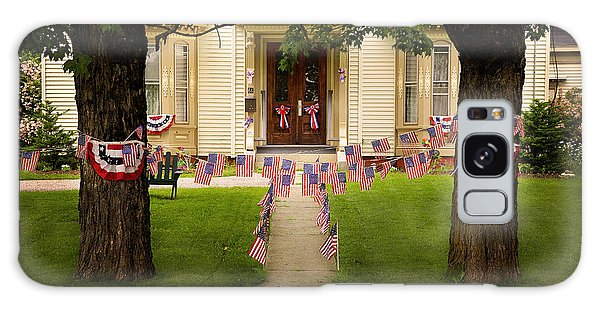 4th Of July Home Galaxy Case by Craig J Satterlee
