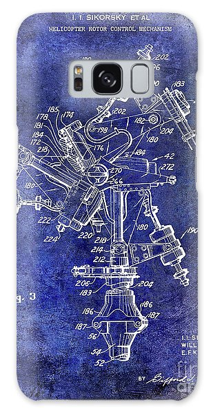 1950 Helicopter Patent Galaxy Case by Jon Neidert