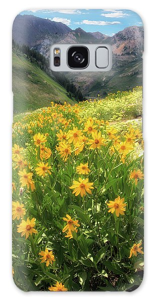 Albion Basin Wildflowers Galaxy Case by Utah Images