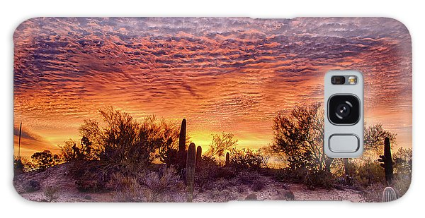 Arizona Sunrise Galaxy Case
