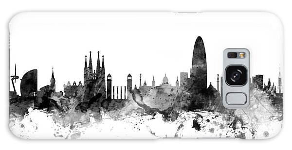 Barcelona Spain Skyline Galaxy Case