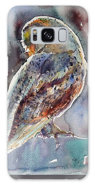 Owl Galaxy Case - Barn Owl by Kovacs Anna Brigitta
