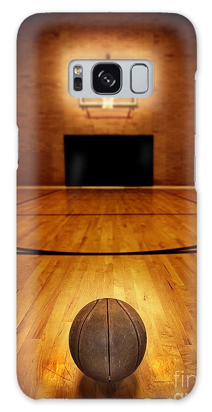 Celebration Galaxy Case - Basketball And Basketball Court by Lane Erickson