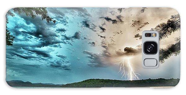 Beautiful Landscape Scenes At Lake Jocassee South Carolina Galaxy Case