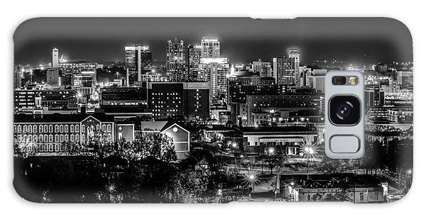 Birmingham Alabama Evening Skyline Galaxy Case