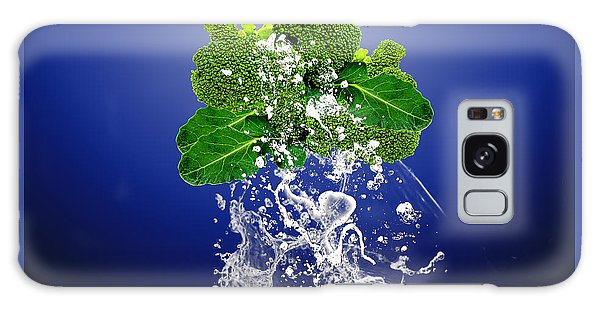 Broccoli Splash Galaxy Case