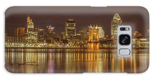 Cincinnati, Ohio Galaxy Case by Scott Meyer