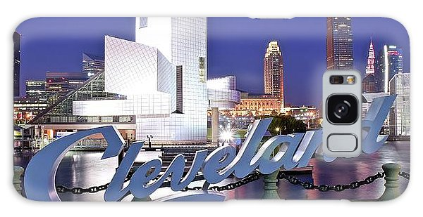 Cleveland Ohio Galaxy Case