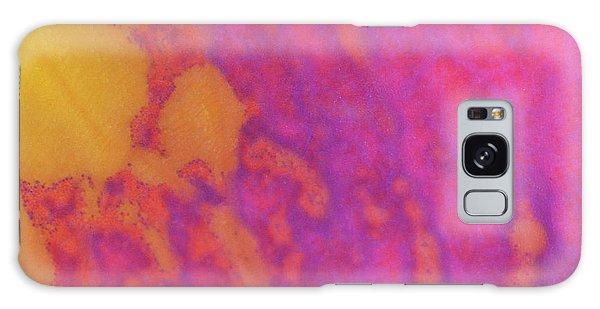 Color Transformation Of Rose Petal Galaxy Case