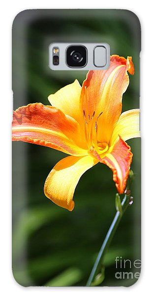 Day Lily Galaxy Case by Irina Hays
