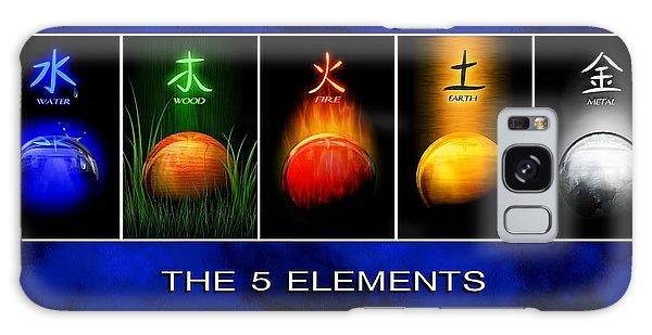 Asian Art 5 Elements Of Tcm Galaxy Case by John Wills