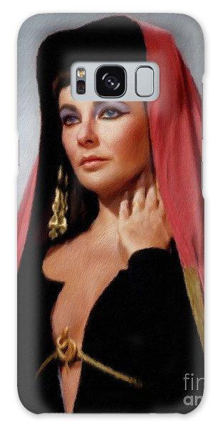 Elizabeth Taylor, Vintage Actress Galaxy S8 Case