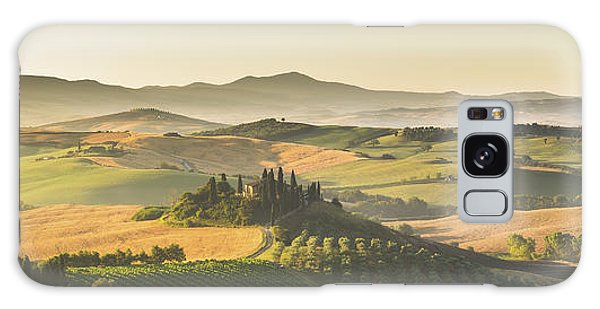 Golden Tuscany Galaxy Case by JR Photography