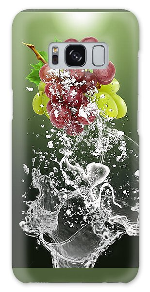 Grape Splash Galaxy Case by Marvin Blaine