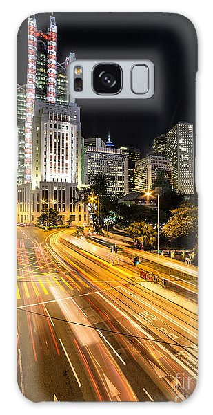 Hong Kong Night Rush Galaxy Case