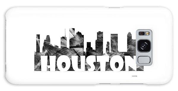 Houston Texas Skyline Galaxy Case