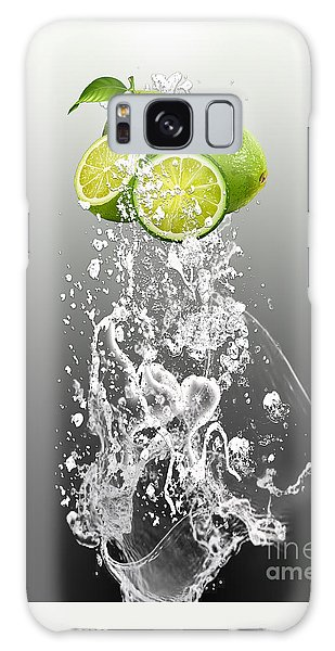Lime Splash Galaxy Case