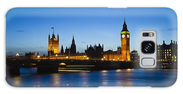 London  Skyline Big Ben Galaxy Case