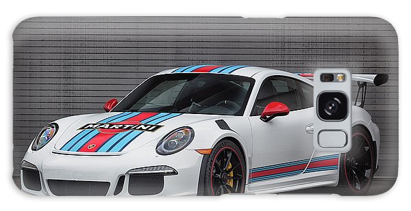 Galaxy Case featuring the photograph #martini #porsche 911 #gt3rs #print by ItzKirb Photography