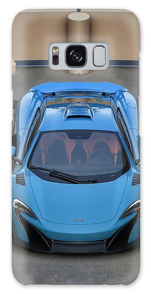Galaxy Case featuring the photograph #mclaren #675lt #print by ItzKirb Photography