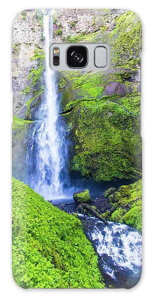 Galaxy Case featuring the photograph Multnomah Falls by Jonny D