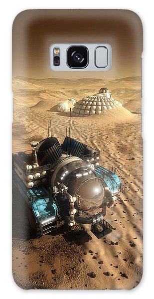 Galaxy Case featuring the digital art Mars Exploration Vehicle by Bryan Versteeg