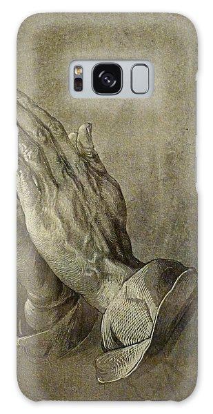 Praying Hands Galaxy Case