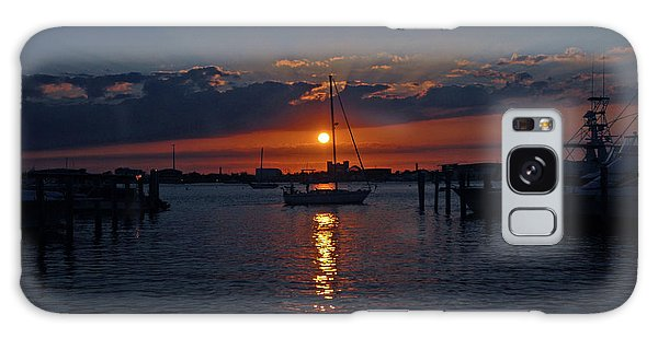 5- Sailfish Marina Sunset In Paradise Galaxy Case